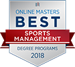 2018 Online Masters Best Sports Management Degree Program