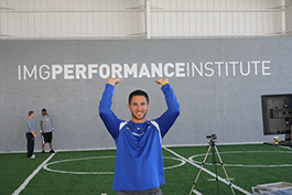 Former student at the IMG Performance Institute