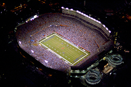 Ben Hill Griffin Stadium, popularly known as 'The Swamp'