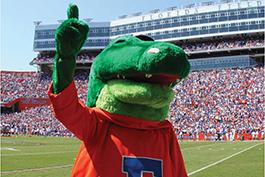 Albert the UF Gator mascot
